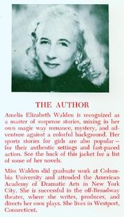 Author photo. From jacket sleeve