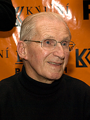 Author photo. Former Czech politician and communist Czechoslovakia prime minister Lubomír Štrougal (aged 87) during book signing in Prague By Luděk Kovář, Wikimedia Commons, <a href=&quot;https://commons.wikimedia.org/w/index.php?curid=17967429&quot; rel=&quot;nofollow&quot; target=&quot;_top&quot;>https://commons.wikimedia.org/w/index.php?curid=17967429</a>