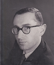 Author photo. Antony Grey in the 1960s