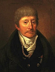Author photo. Portrait by Joseph Willibrord of Meals, c 1820 (Wikimedia Commons)