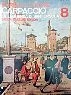Carpaccio La leyenda de Santa Ursula by…