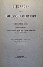 Bijdragen tot de Taal-, Land- en Volkenkunde…