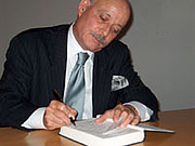 "Author photo. Jeremy Rifkin (1945-    ) signing a book after his lecture at Amerika Haus, Frankfurt, Germany on Sept. 15, 2004 <a href'""http://frankfurt.usconsulate.gov/frankfurt/rifkin.html"">U.S Consulate, Frankfurt, Germany</a>"