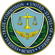 Author photo. Seal of the United States Federal Trade Commission