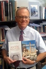 Author photo. Charles Gates [credit: Bilkent News]