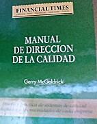 Manual de dirección de la calidad diseño y…