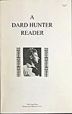 A Dard Hunter reader by Dard Hunter