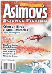Asimov's Jan-Feb 2017 cover