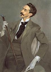 Author photo. Robert de Montesquiou (by Giovanni Boldini, 1897)