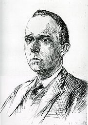 Author photo. Werner Jaeger (1915), Lithography by Max Liebermann -- Wikimedia