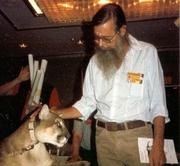 Author photo. At Necronomicon '90.
