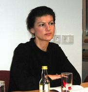 Author photo. Sahra Wagenknecht