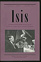 ISIS: An International Review Devoted to the…