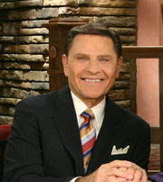 Author photo. Kenneth Copeland in the Believer's Voice of Victory television broadcast in 2011. By Kenneth Copeland Ministries - Crop of File:Kenneth and Gloria Copeland hosting Believer's Voice of Victory - 2011.jpg, CC BY-SA 3.0, <a href=&quot;//commons.wikimedia.org/w/index.php?curid=46116829&quot; rel=&quot;nofollow&quot; target=&quot;_top&quot;>https://commons.wikimedia.org/w/index.php?curid=46116829</a>