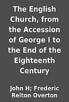 The English Church, from the Accession of…