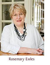 Author photo. Rosemary Ewles