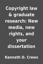 Copyright law & graduate research: New…