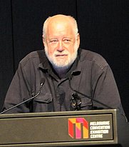Author photo. At the Global Atheist Convention, 13 March 2010. Credit: Wikipedia author Barrylb.