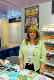 Author photo. Book signing at Book Expo ~ New York City ~ 2012