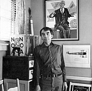 Author photo. Photograph of Guy Davenport by photographer Guy Mendez from the dust jacket for The Geography of the Imagination : Forty Essays / Guy Davenport (San Francisco : Northpoint Press, 1981.
