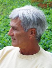 Author photo. Otto Lohmüller, German artist.
