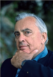 Author photo. Gore Vidal at home in Ravello, Italy in 1987 - Photo: © Sophie Bassouls/CORBIS SYGMA