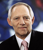 Author photo. Wolfgang Schäuble