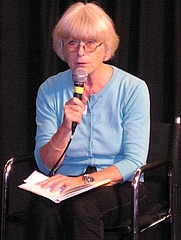 Author photo. Credit: Lennart Guldbrandsson, Gothenburg Book Fair 2005
