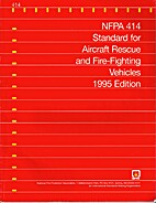 NFPA 414 Standard for Aircraft Rescue and…