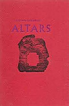 Altars by Clayton Eshleman