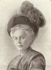 Author photo. Mathilde Amalie Ida Gräfin von Keller 1853-1945 (Credit @ merkelstiftung.de)