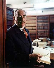 """Author photo. Portrait of Dean Acheson, from a series of color portraits of Truman cabinet members <a href=""""http://www.trumanlibrary.org/photographs/view.php?id=71"""">Turman Library Photographs</a>"""