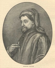 "Author photo. Illustration from Cassell's History of England - Century Edition - published circa 1902.<br> Via <a href=""http://en.wikipedia.org/wiki/Geoffrey_Chaucer"">Wikipedia</a>."
