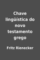 Chave lingüística do novo testamento grego…