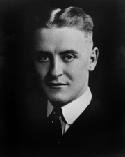 Author photo. F. Scott Fitzgerald Papers, Manuscripts Division, <br>Dept. of Rare Books and Special Collections, <br>Princeton University Library <br>(photo courtesy of Princeton University)