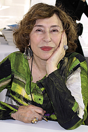 """Author photo. Author Azar Nafisi at the 2015 Texas Book Festival. By Larry D. Moore, CC BY-SA 4.0, <a href=""""https://commons.wikimedia.org/w/index.php?curid=44476478"""" rel=""""nofollow"""" target=""""_top"""">https://commons.wikimedia.org/w/index.php?curid=44476478</a>"""