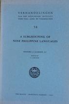 A Subgrouping of Nine Philippine Languages…