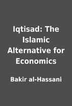 Iqtisad: The Islamic Alternative for…