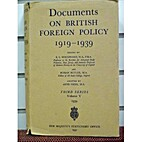 Documents on British foreign policy,…