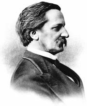 Author photo. Image from <b><i>Josiah Gilbert Holland</i></b> (1894) by Harriette Merrick Plunkett