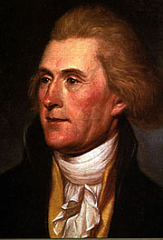 """Author photo. Portrait by Charles Wilson Peale, 1791. Via <a href=http://commons.wikimedia.org/wiki/Image:Thomas_Jefferson_rev.jpg"""">Wikimedia Commons</a>"""