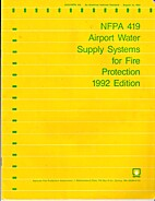 NFPA 419 Airport Water Supply Systems for…