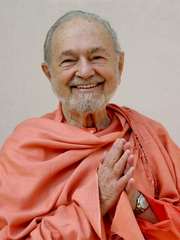 Author photo. Swami Kriyananda in India, 2004. Photo by Jyotish Novak.