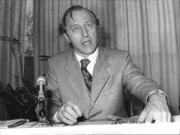 Author photo. Alexander Tollmann at press conference, November 9, 1978 / Photo © <a href=&quot;http://www.bildarchivaustria.at&quot;>ÖNB/Wien</a>