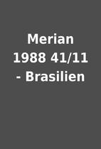 Merian 1988 41/11 - Brasilien