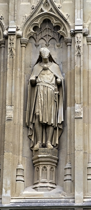 Author photo. Baldwin of Forde, Canterbury Cathedral. User Ealdgyth / Wikipedia