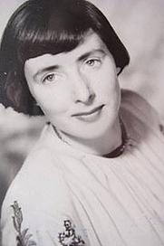 Author photo. Vivienne Rae - Ellis, studio portrait taken for her 21st birthday