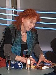 Author photo. Margriet de Moor - Leipzig Book Fair 2011 [credit: Lesekreis via Wikipedia]