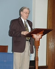 Author photo. 2008 Golden Dawn Conference, Swedenborg Hall, London