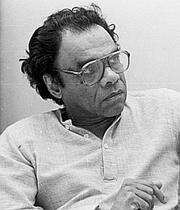 "Author photo. <a href=""http://en.wikipedia.org/wiki/A._K._Ramanujan"" rel=""nofollow"" target=""_top"">Wikipedia</a>"
